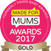 Made for mums award logo