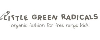Little Green Radicals organic fashion at KissNature