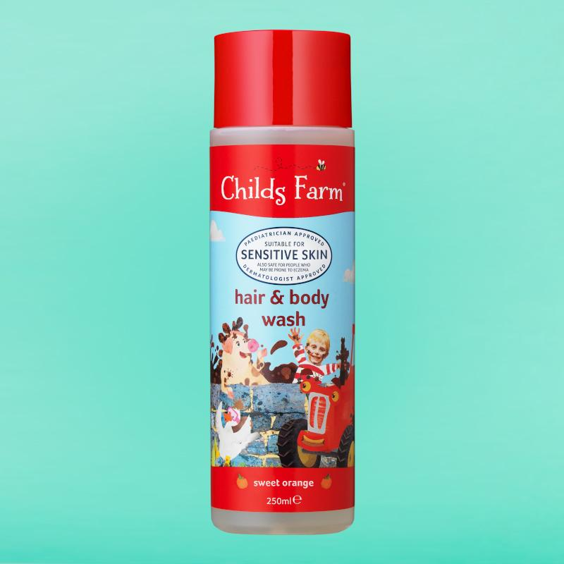 Childs Farm hair and body wash 250ml