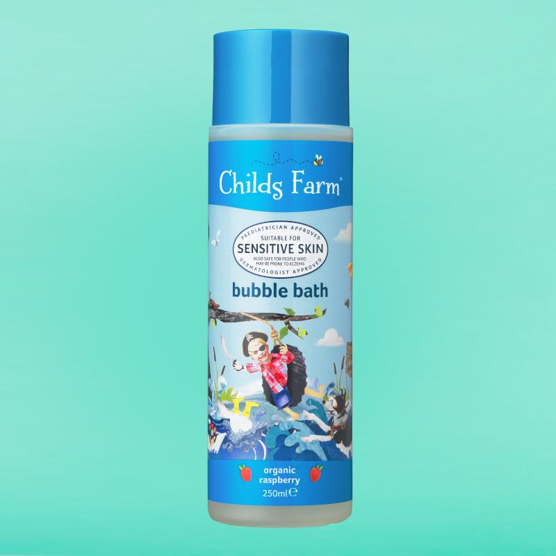 Childs Farm bubble bath organic raspberry 250ml