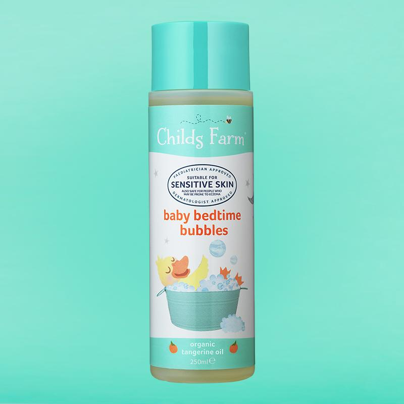 Childs Farm baby bedtime bubbles 250ml